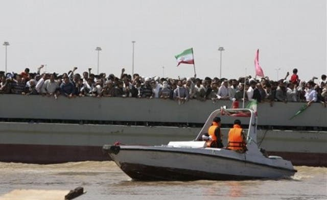Former Bahrain legislator warns Iran flotilla would be an act of war