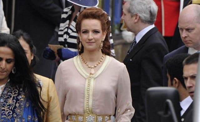 Moroccan princess chosen most elegant UK royal wedding guest
