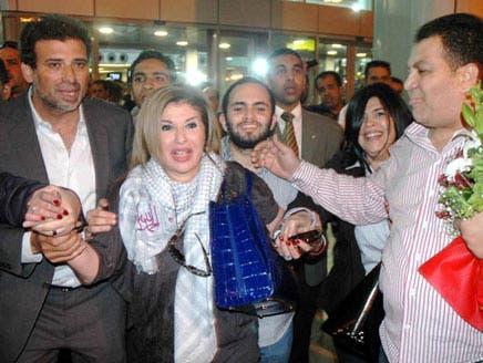 هالة سرحان: مَنْ تسبّب بخروجي من مصر يقبع الآن خلف القضبان
