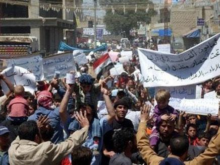 منابع حقوق بشری سوریه : یک گور دسته جمعی در شهر درعا کشف شد