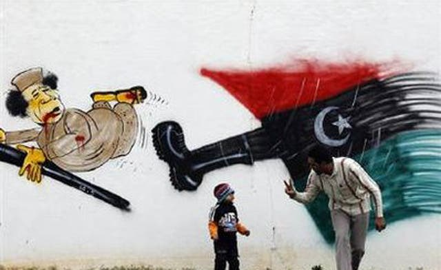 Letter from London / Ray Moseley: Danger of 'sudden' regime collapse in Libya?