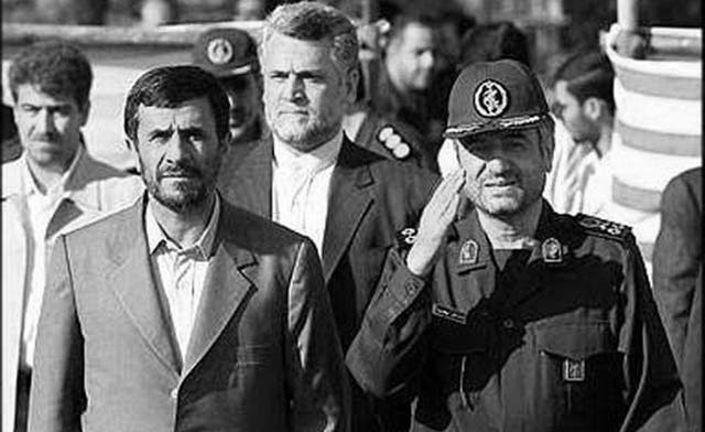 From Iran Primer: Ahmadinejad vs. the Revolutionary Guards