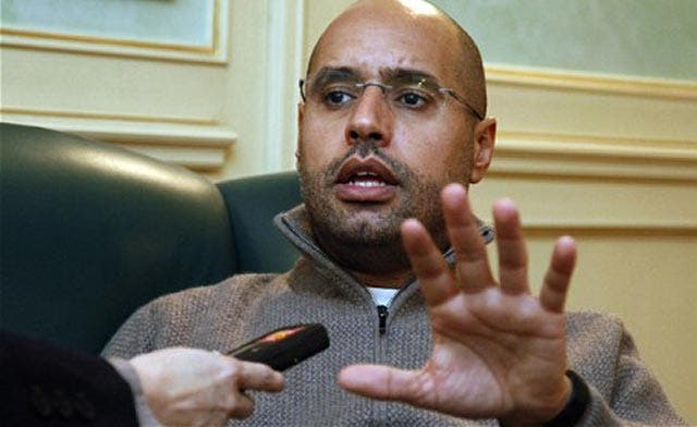 Qaddafi's son says (again, yes, again, and again) father will never step down