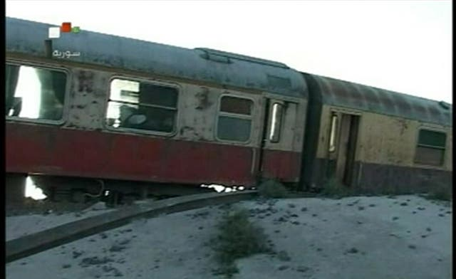 Syrian officials blame protest movement for 'terrorist and criminal' train crash