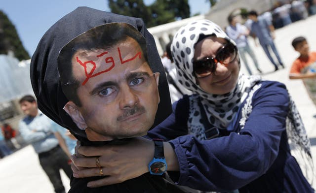 Obama says Assad using 'torture, corruption and terror' against protesters. By Mustapha Ajbaili