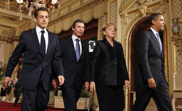 Obama, Sarkozy, Merkel condemn Assad over violence, agree on more sanctions