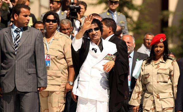 Qaddafi female bodyguards say they were raped by leader and sons