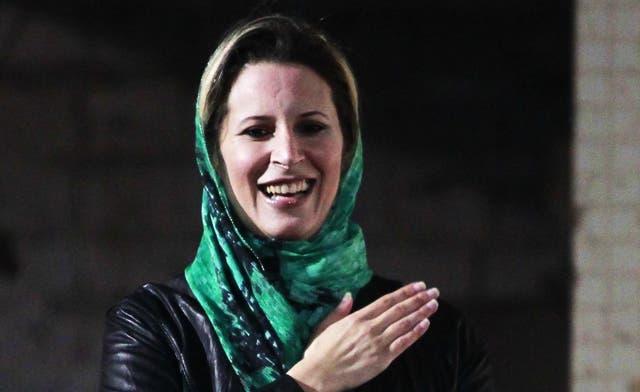 Muna Khan / The curious case of Aisha Qaddafi's birthing powers