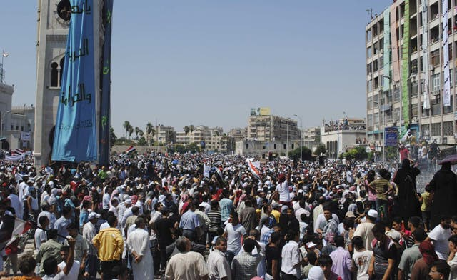 Syrian forces kill 23 in mass anti-Assad protests after Friday prayers