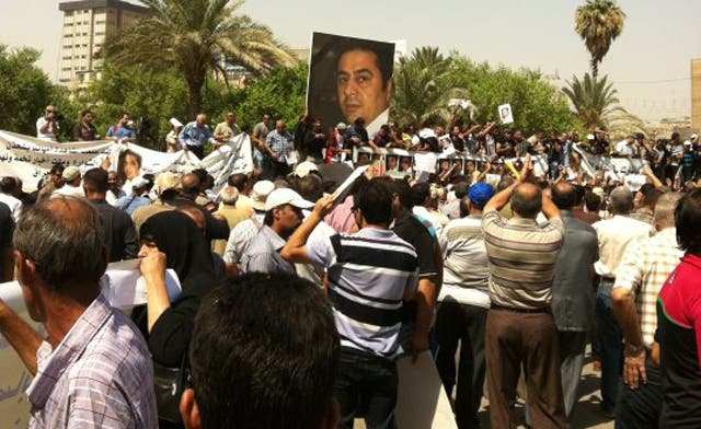Murder of popular radio host and writer has Iraqis fearing a new dictatorship