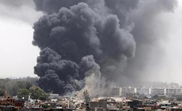 Libyan woman guided NATO bombs to Qaddafi targets