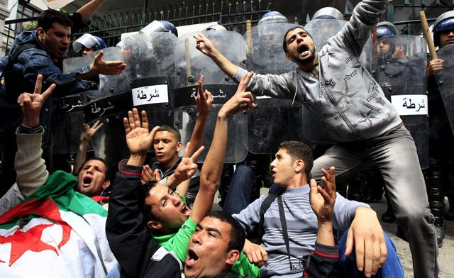 Algerian authorities alarmed by Facebook protest call, blame 'Zionist parties'