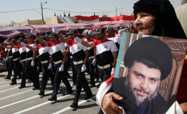 Supporters of Shiite cleric Sadr take to Iraq's streets
