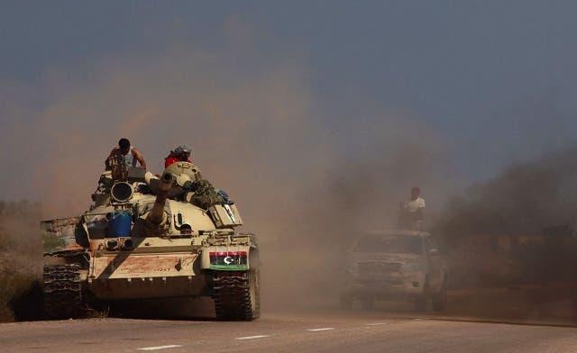 Libyan fighters control Sirte's eastern gate: commander