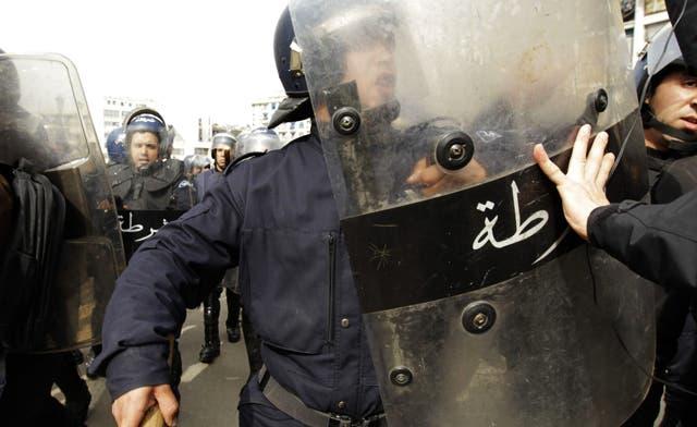 Algerian police detain dozens as they prepare for demonstration