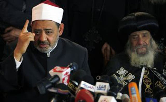 Egypt religious leaders to hold crisis talks
