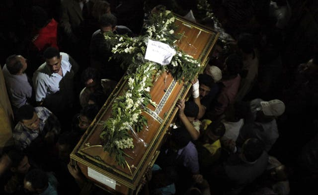 Egyptian priest says Coptic church was not attacked, admits to building violations