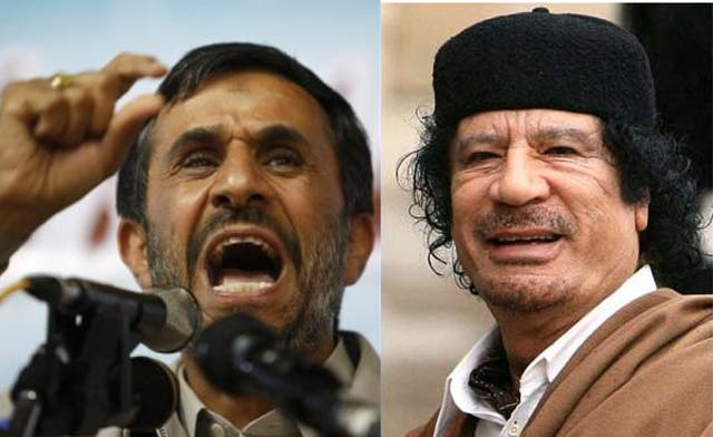 Iran hails death of long-time ally Qaddafi as 'great victory'