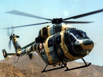 پاکستانی فضائی حدود کی خلاف ورزی کرنے والے بھارتی ہیلی کاپٹر کی واپسی