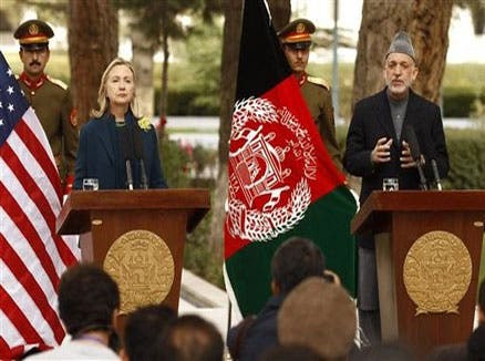 امریکی حملے کی صورت میں پاکستان کا ساتھ دیں گے: حامد کرزئی