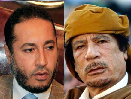 الساعدي صُدم واستشاط غضباً لمقتل والده معمر القذافي وشقيقه المعتصم