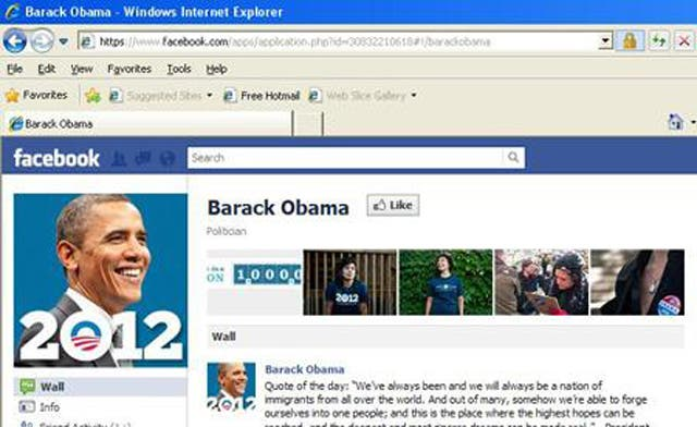 Tunisians poke fun at Obama in assault on his Facebook page