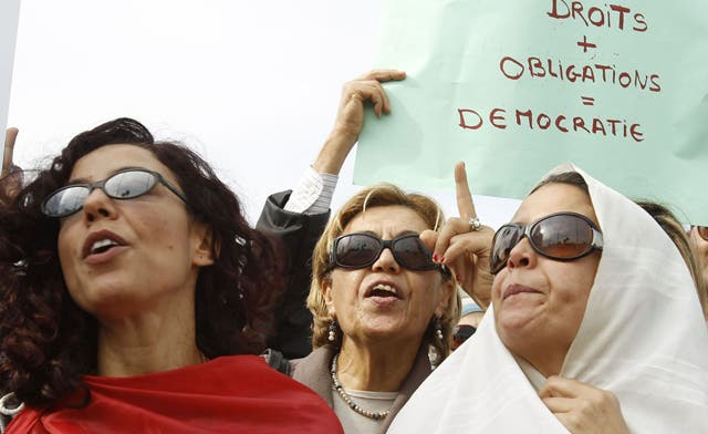 Intalnirea femeilor din Tunisia)