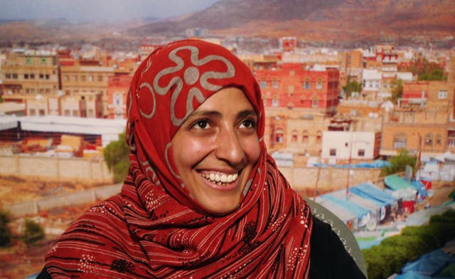 Tawakkul Karman says Yemenis will continue with their peaceful revolution