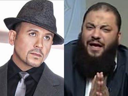 داعية سلفي مصري كبير يقتحم حفلاً لهشام عباس بدعوى أن الغناء حرام