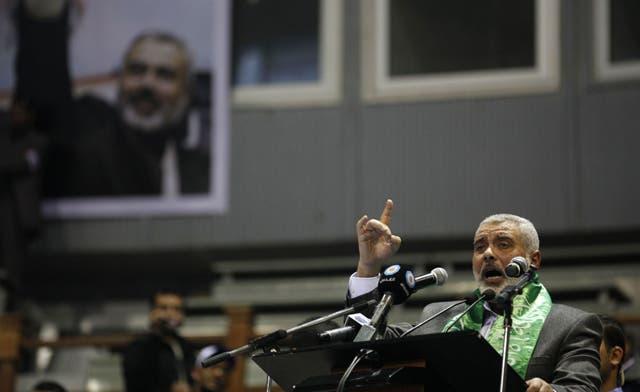 Hamas' Gaza chief begins regional tour, to meet Ahmadinejad, Gulf leaders