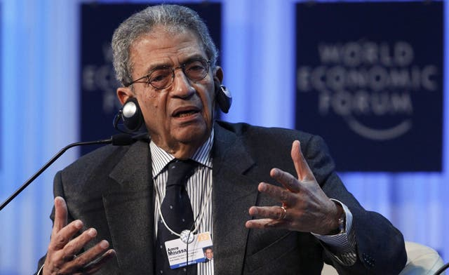 Amr Moussa's vision for Egypt could upset military