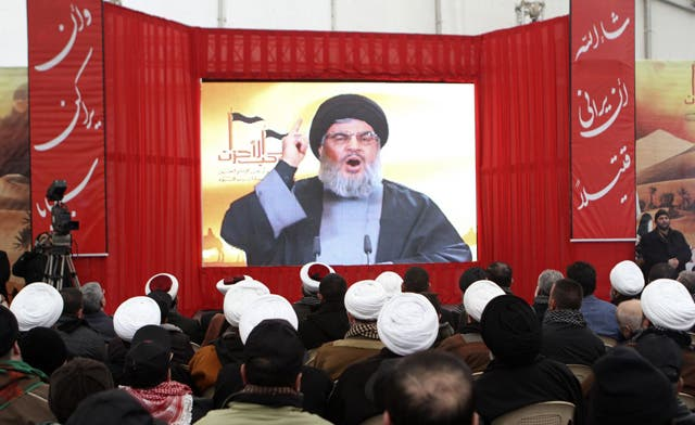 Hezbollah chief says group gets support, not orders, from Iran