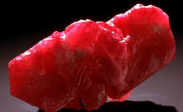 Largest ruby in the world on sale in Dubai
