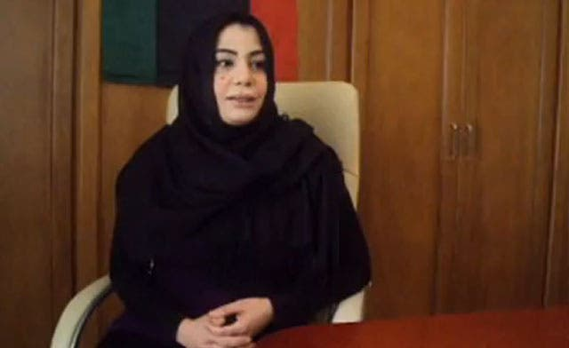 Libyan anchorwoman Halah al-Misrati appears in video denying reports of her death