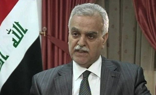Fugitive Iraq VP says his employees jailed in secret prisons
