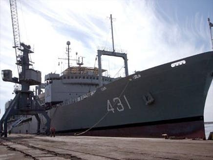 وصول سفينتين حربيتين إيرانيتين إلى سوريا