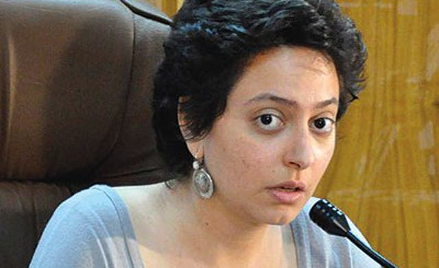 Syrian activist Razan Ghazzawi is freed by authorities for a second time