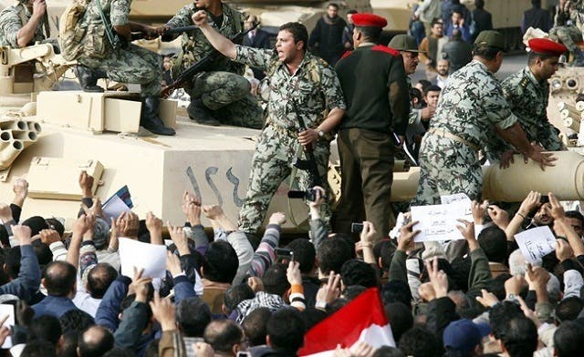 Egyptian army planned Mubarak ouster before the revolution: Stratfor report