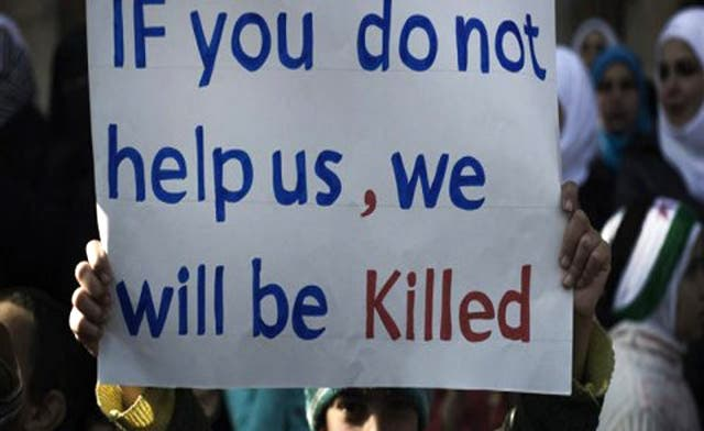 Egypt says arming Syrian rebels will lead to civil war