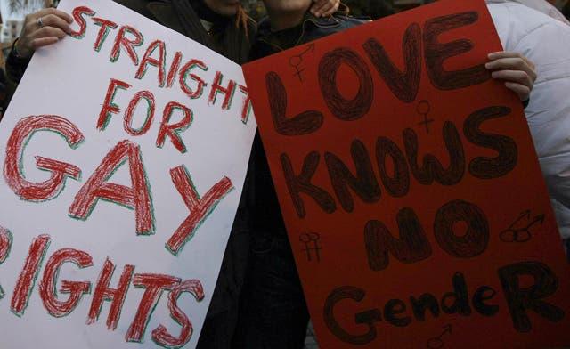 Muslim envoys walk out in protests at U.N. gay rights debate