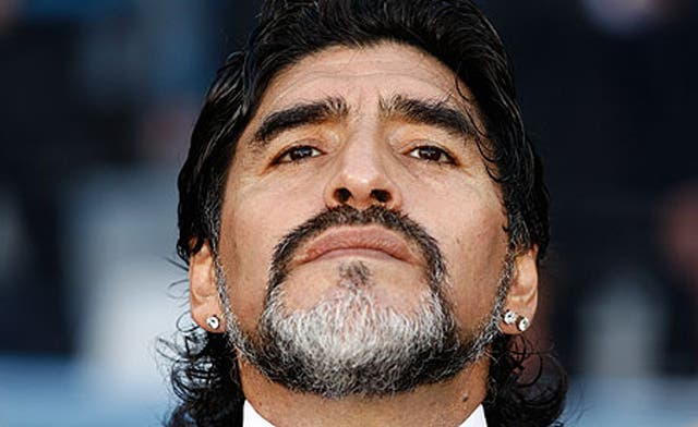 Maradona shows support, respect to 'struggling' Palestinians