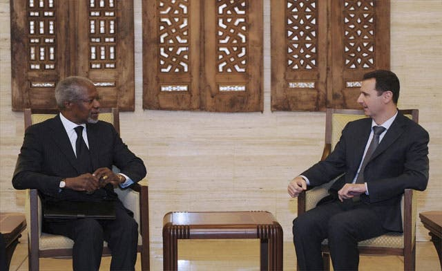 At least 83 killed in Syria despite Kofi Annan's visit