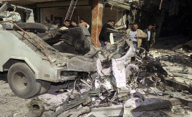 Islamist group claims Syria bombs 'to avenge Sunnis'