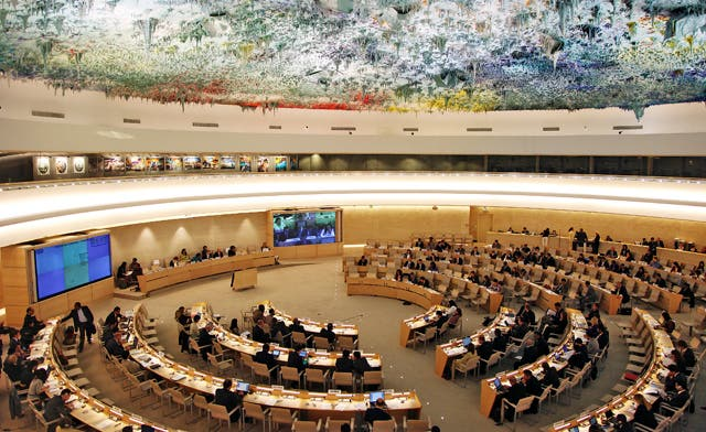 U.N. rights council orders 1st probe of Israeli settlements; Netanyahu slams resolution