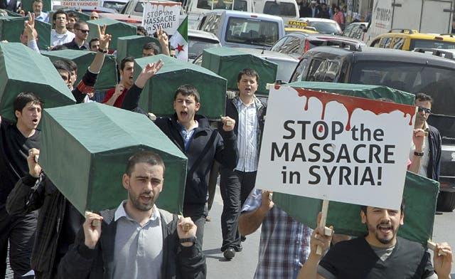 Syria death toll exceeds 150 as killing escalates ahead of ceasefire deadline