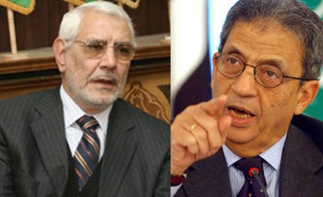 Moussa, Abul Fotouh appear to lead Egyptian presidential race
