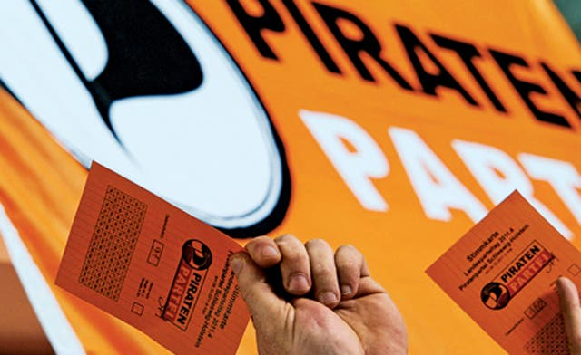 Germany's Pirates party in hot water over Nazi comparison