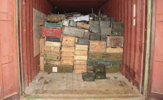 Lebanon says intercepted weapons shipment headed for Syrian armed opposition