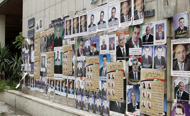 Elections in Syria are 'cosmetic' and will not lead to change