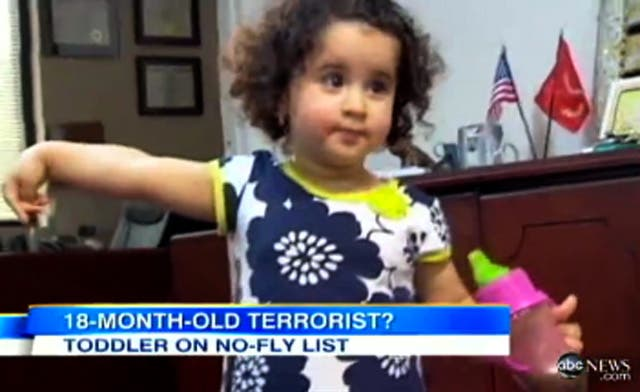 Airline removes 18-month-old child mistaken for terrorist from flight